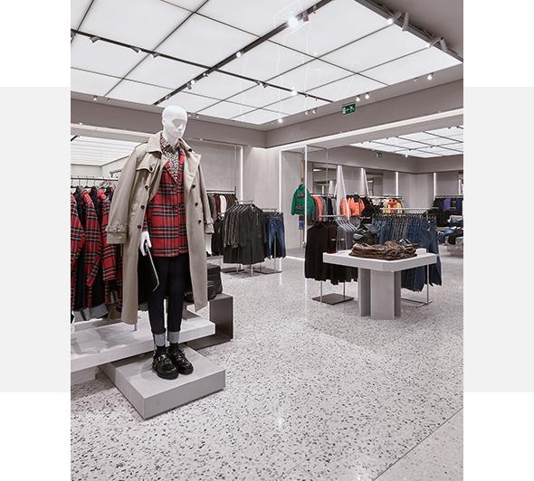 Retail y Mobiliario - Áreas de negocio