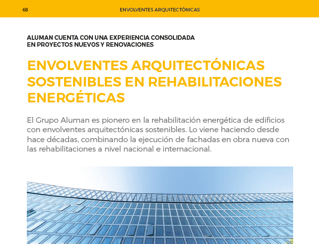 envolventes arquitectónicas sostenibles